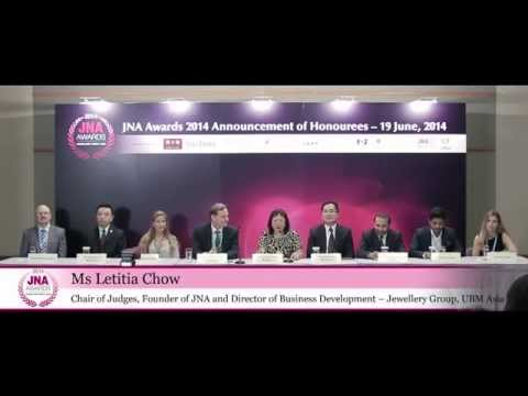 JNA Awards 2014 Honourees Announced