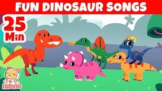 Dinosaur Songs with Fun Stories |  Fun Song Compilation with Kid's Favorite Songs