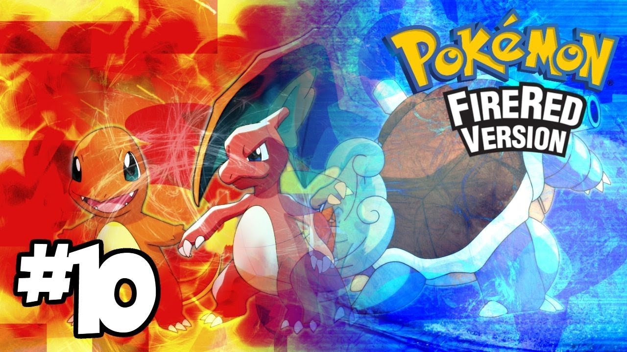 Let s play pok 233 mon fire red version episode 10 i hate rock