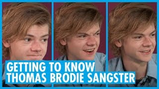 Getting to Know Actor Thomas Brodie-Sangster