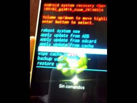 Hacer Hard Reset o recovery al Zuum P55 / Desbloquear Patrón de Seguridad al Zuum P55