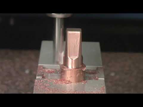 DATRON CNC Milling - Copper Electrode