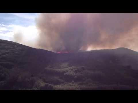 Incêndio no Cabo da Roca - 25 de Outubro de 2014 - 2