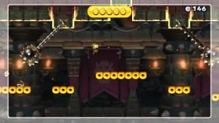 Cashless Castle Crawl Gold Medal - New Super Mario Bros. U (0 Coins)