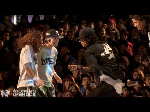 Les Twins Vs Rush Ball G-shock Real Toughness Japan 2012 | Yak Films video