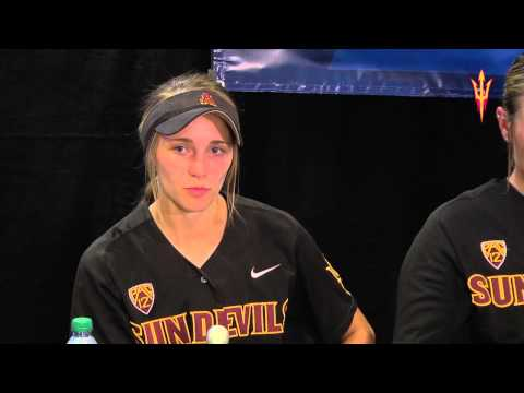 ASU Softball Post Game Interview v Georgia 19 May 2013