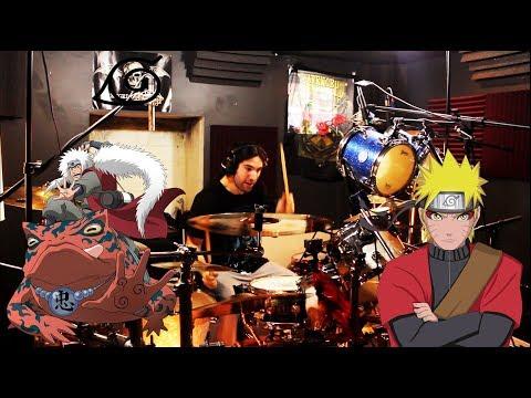 Kin | Naruto Shippuden 19 Opening | Blood Circulator | AKFG | Drum Cover (Studio Quality)