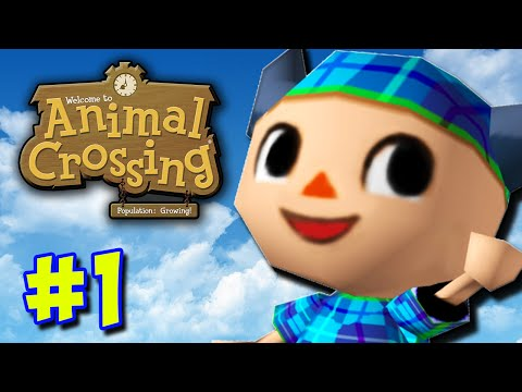 NEW LIFE! - Animal Crossing GCN (Part 1)