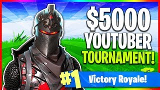 🔴 $5000 Saturday Fortnite Tournament! (Fortnite: Battle Royale LIVE Gameplay)