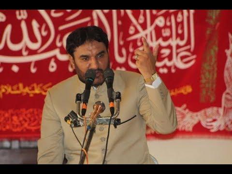 Allama Nasir Sibtain Hashmi | Jashan 25 July 2018 | ImamBargah Shah Yousaf Gardeaz Multan |