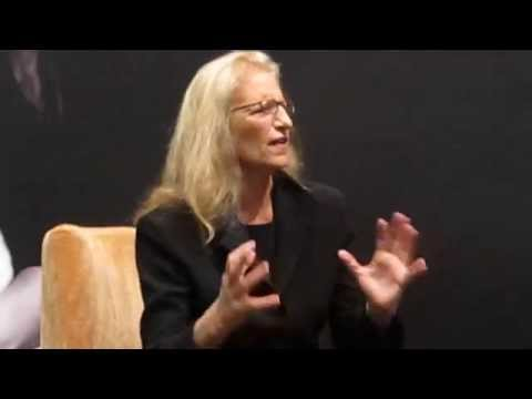 Annie Leibovitz interview with Asha Gill in Singapore, April 16th 14'