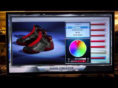 NBA 2K14 Shoe Creator