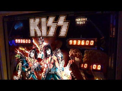 1979 Bally KISS Pinball Machine In Action