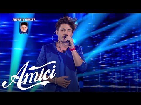 Amici 16, La Semifinale - Riccardo - Perdo le parole