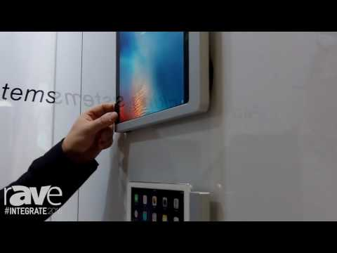 Integrate 2016: Life 2 Shows Its free On-wall Model iPad Mounting Solution