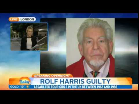 Rolf Harris found guilty of indecently...