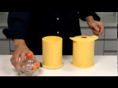 Пресс для бутылок пэт своими руками видео