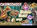 CasinoDaddy Bonus Hunt   Bonus Compilation   Bonus Round Episode #47