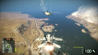 BFBC2 -test fly for jet