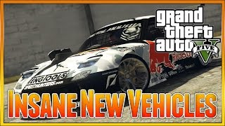 GRAND THEFT AUTO 5 - NEW MAZDA RX 7 AMAZING NEW CARS, REAL LIFE CARS IN GTA 5 NOW POSSIBLE