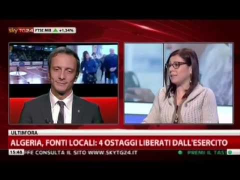 Massimiliano Fedriga ospite a SkyTg24 Pomeriggio di Paola Saluzzi  17 gennaio 2013