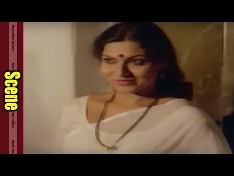 Romantic Scene Between Vijaya & Karthik || Anveshana Movie || Bhanu Priya