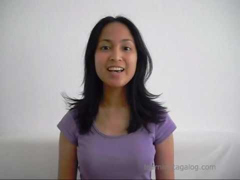 Learn Tagalog 01   Tagalog pronunciation: Vowels