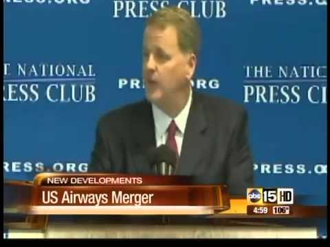 CEO talks about US Airways merger with American Airlines
