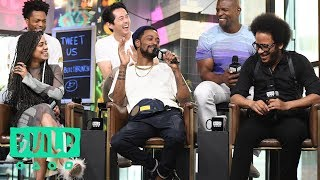 """Boots Riley, Lakeith Stanfield, Tessa Thompson, Jermaine Fowler, Terry Crews & Steven Yeun On """"Sorry"""