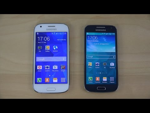 Samsung Galaxy Ace 4 vs. Samsung Galaxy S4 Mini - Review (4K)
