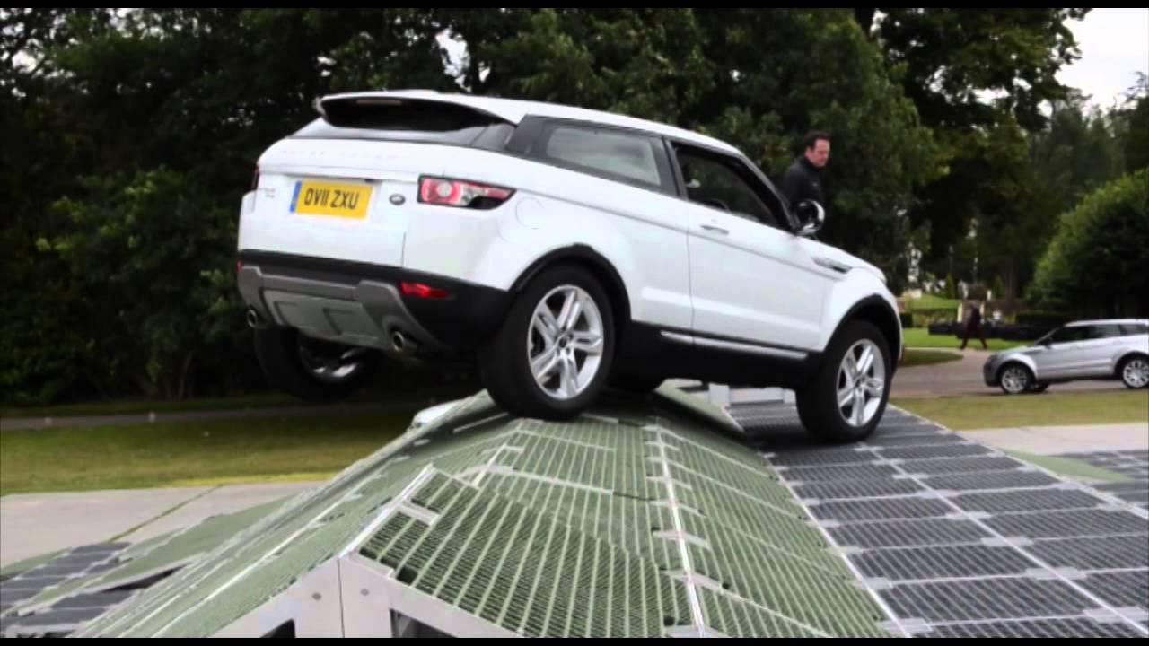 Range Rover Evoque Testdrive Bilcentret Peer Glad Youtube