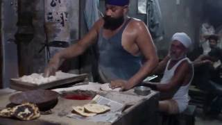 Making Tandoori Roti