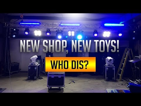 OFFICE IS DONE! | ULTIMATE DJ EQUIPMENT SHOP TOUR! | NEW EMPLOYEE!!