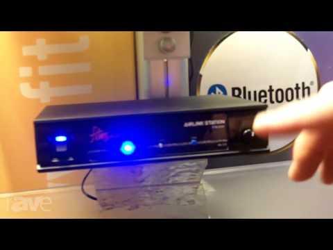 InfoComm 2013: Fitness Audio Demos Airlink Station