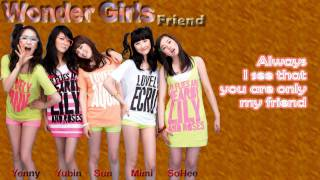Watch Wonder Girls Friend video