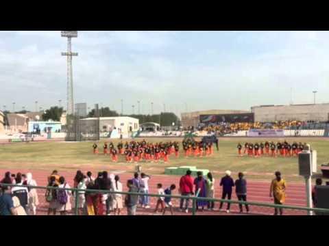 ICSK Amman Sports Day 2014 Yoga Drill