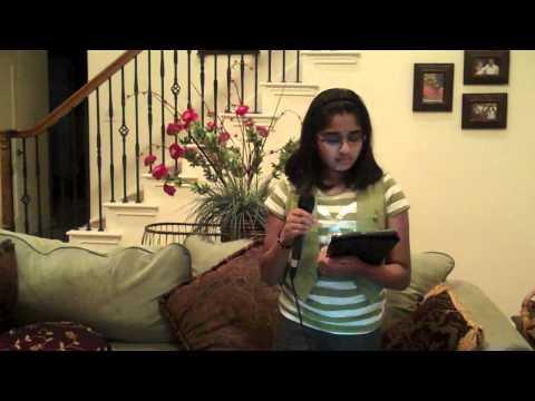 Megan singing Maa from the movie Taare Zameen Par
