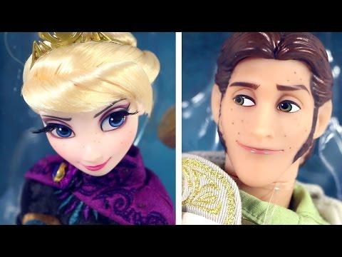 ELSA & HANS Limited Edition Dolls [D23 Exclusive] Disney Fairytale Designer Collection