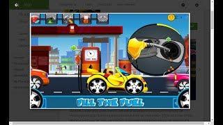 Car wash & repair salon - kid  car machine game -2d fun zone - educational
