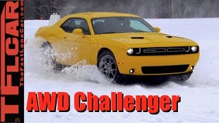 2017 Dodge Challenger GT AWD: Everything You Wanted To Know in the Snow