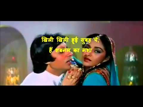 Log Kehate Hain Karaoke With Hindi Lyrics By Rajan Shetye video