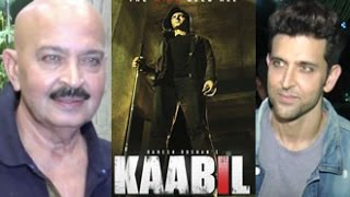 Hrithik Roshan Watches Kaabil with Father Rakesh Roshan