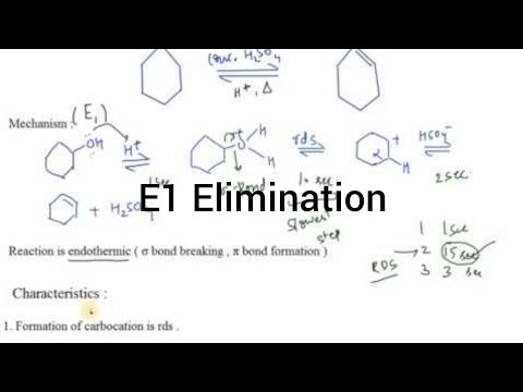 Dehydration of Alcohol E1 I Alcohols and Ethers I Particles Academy