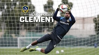 Clement DIOP, gardien de but des Los Angeles Galaxy
