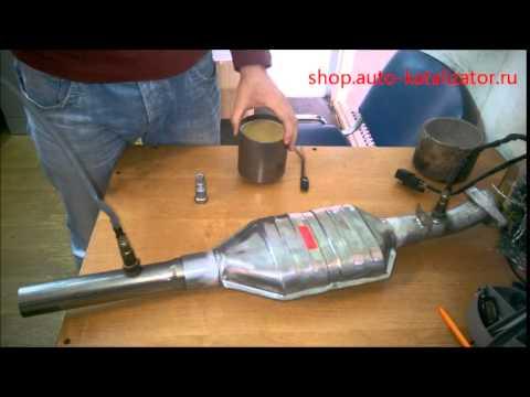 Как сделать пламегаситель вместо катализатора, своими руками! arkwars.ru