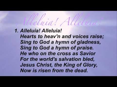 Alleluia! Alleluia! (Presbyterian Hymnal #215)