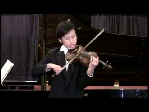 6 29 08 VOCE Paganini Violin Concerto No 1 in D Major, Op 6, Allegro maestoso Jessie Chen, violin 9'41 VTS 06 1