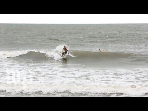Myrtle Beach empty ahead of Hurricane Florence