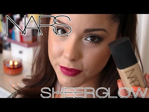 NARS Sheer Glow Foundation Review & Demo