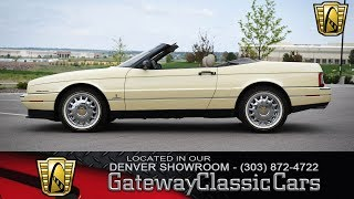 1993 Cadillac Allante Now Featured In Our Denver Showroom #290-DEN